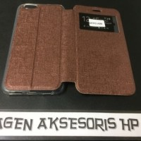 Murah Flip Cover Oppo F1s A59 Leather Case Sarung HP F1 S Selfie Expe