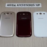Murah Back Door Samsung S3 I9300 Back Case Tutup Belakang HP Batre