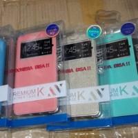 Murah Flipcover UME Andromax R2 E2 Sarung HP Leather Case Smartfren