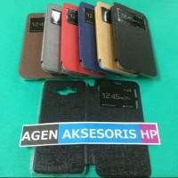 Murah Flipcover Samsung J2 Prime Leather Case Sarung Buku HP