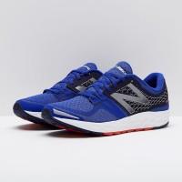 Sepatu Lari Original New Balance Fresh Foam Vongo Blue Black MVNGOBY