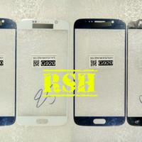 kaca depan kaca lcd touchscreen digitizer gorilaglass Samsung S6 Flat