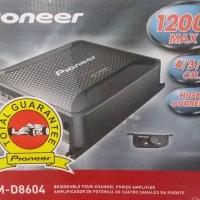 Aksesoris Mobil Audio Mobil Pioneer GM 8604 power amplifier 4 channel