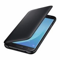 ORIGINAL SAMSUNG Wallet Cover Galaxy J7 Pro 2017 Black