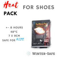 Foot Warmer - untuk traveling ke negara dingin, hiking maupun camping