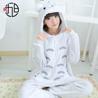 Onesie Cute Totoro Fluffy Piyama