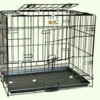 Kandang Kucing Anjing 60 cm - Markotop cage (dengan roda)