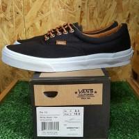 Sepatu Vans Era California Black Tan Bonus Lanyard