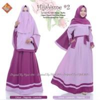 Gamis Hijabisme #2 Set Syari Free Cadar Original By Hijab124K
