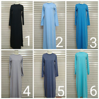 Manset Gamis Kaos Dalaman Kaos Wanita Muslim Ika Fashion Tanah Abang
