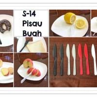 Pisau plastik buah / pisau plastik kue