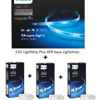Philips Hue Strip 2m+Hue Strip 3pcs 1m