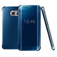 Original SAMSUNG Clear View Galaxy S7 Edge Blue