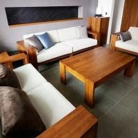 Promo Ramadan kursi tamu sofa jati Minimalis untuk ruang keluarga