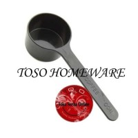 Sendok Takar Kopi Coffee Spoon Measuring Plastic Spoon 10 Gram Black