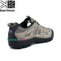Sepatu Karrimor Ori Abu Pink/Sepatu Gunung/Sepatu Kerja
