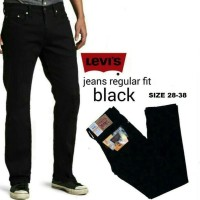 Harga sale celana limited levis hitam murah jeans pria wanita hobi kerja | antitipu.com