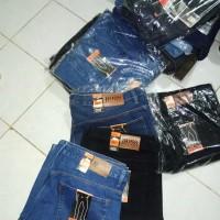 PREMIUM CELANA LIMITED panjang jeans jumbo merk hugo boss size 45 50