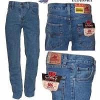 PROMO CELANA LIMITED jeans standart ice blue Lea jeans pria wanita ke