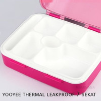 Yooyee 607 - Thermal Leakproof Lunchbox 7 sekat