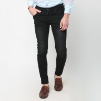 MENTLI Celana skinny jeans pria - Black Wash