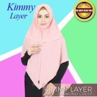 Hijab Jilbab Kerudung Syari Kimmy Layer / Fashion Hijab Baju Lebaran