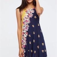 Sexy Mini Dress Pantai Bunga Flower Baju Wanita Korea Import Lingerie