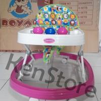 Baby Walker Royal R33 / ALAT BANTU BELAJAR JALAN ANAK Bayi / Apollo