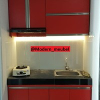 kitchen set custom untuk apartment type studio