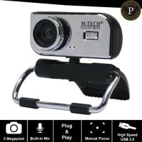 Webcam PC M-Tech WB100 5MP / Webcam Laptop / Web Cam Notebook