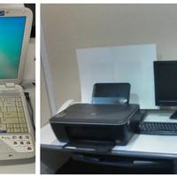 Paket lengkap Komputer dg LCD , Laptop Acer 4920 & Printer HP 2520hc