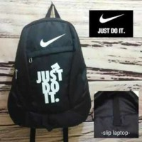 Tas Nike Just Do It, Tas Ransel Murah, Tas Sport Pria & Wanita
