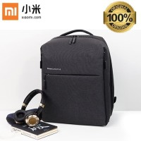 Xiaomi Backpack Mi Minimalist Urban Life Style Waterproof - Hitam