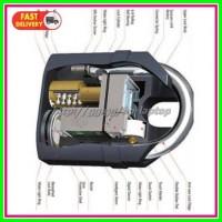 Gembok Alarm Motor Suara Anti Maling Lock Siren Black