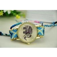 Jam Tangan Stylish Strap Braided / wanita / lucu dan unik