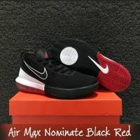 SEPATU BASKET NIKE AIR MAX NOMINATE BLACK RED REPLIKA BOX ORIGINAL