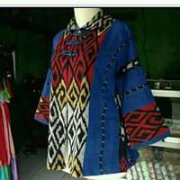 blouse batik kain tenun troso blanket etnik antik