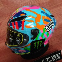 Helm AGV Corsa Rossi Misano Hands - Limited Edition
