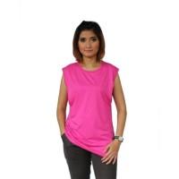Baju Hamil Menyusui Viola Pink Fanta Kaos Inner Busui Manset Justmom
