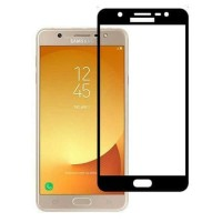Full Screen 100% Color Tempered Glass Warna Samsung Galaxy J7 Max Plus