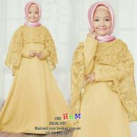 baju anak perempuan gamis kids maxi dress busana muslim couple ibu&ana