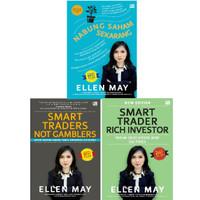 3 Buku Smart Traders Not Gamblers,Rich Investor,Nabung Saham Ellen May