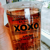 Original Thai Tea, Milk Tea, Lychee Tea dan Bubble gum By XOXO