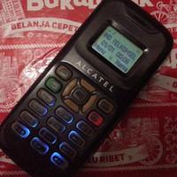 hp alcatel ot 090 kecil mirip kalkulator antik jadul klasik unik