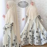 gamis maxi syari baju muslimah pesta xxxl xxl dress jumbo big size