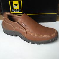 Sepatu kulit Pakalolo 8815 Coklat