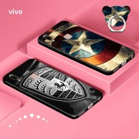 Marvel the avengers cartoon tpu casing hp vivo v9 v7 v7 plus  y23 y55s
