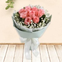 Hand Bouquet / Buket Bunga Wisuda / Kado ulang tahun / Bunga Mawar