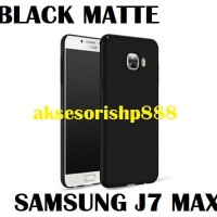 Kesing / Casing Black Matte Case for Samsung Galaxy J7 Max