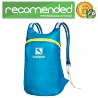 Hard Bone Tas Hiking Foldable Waterproof - Biru